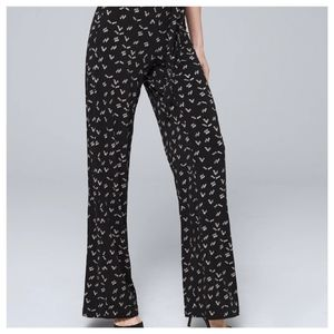 B-Design Wide Leg Palooza Black/White Pant…